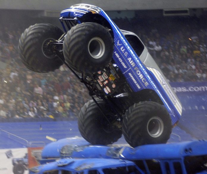 Discount ticket to monster truck rally in Cleveland, OH