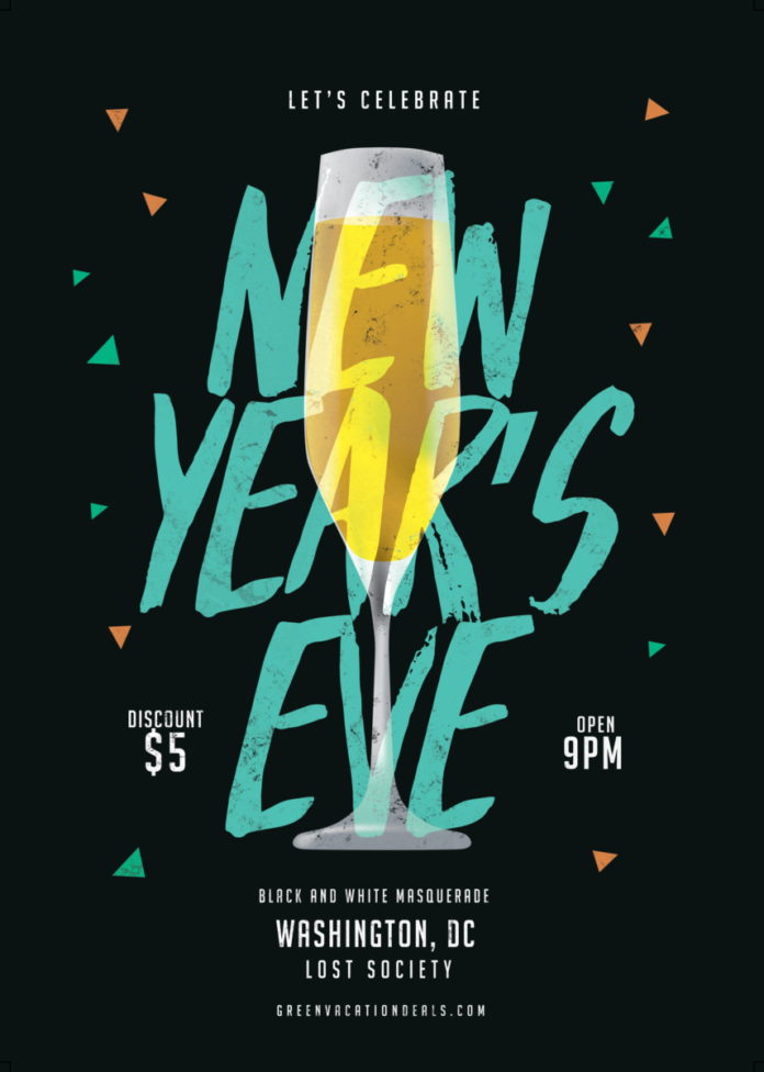 Promo code for New Year's Eve Party in Washington, D.C. at Lost Socety