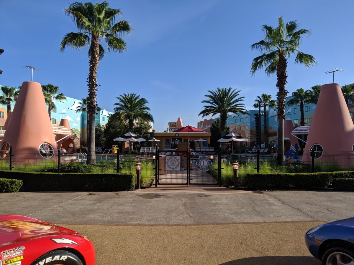 Disney's Art of Animation Resort has a section dedicated to the Pixar movie franchise Cars