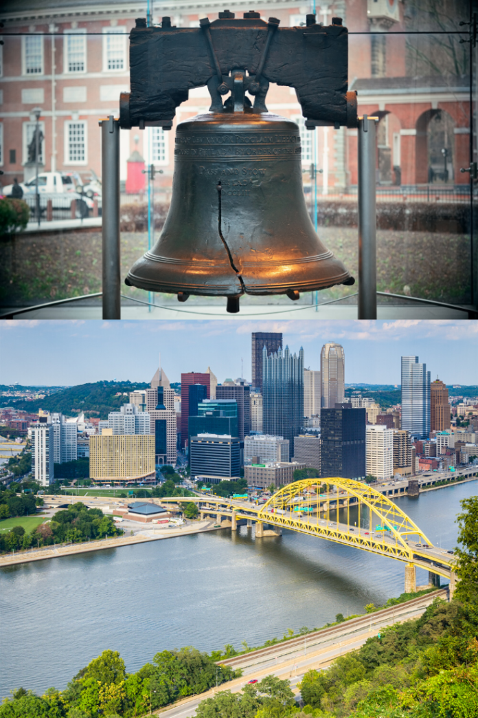 Discounted hotel rates for Pittsburgh & Philadelphia, Pennsylvania