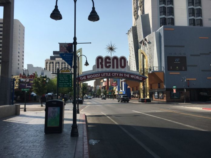 Book a hotel in Reno, Nevada for under $100/night