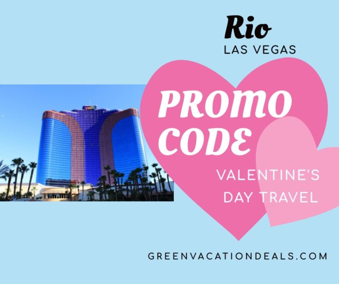 Enjoy a romantic trip at Rio Las Vegas at Valentine's Day with these discount codes