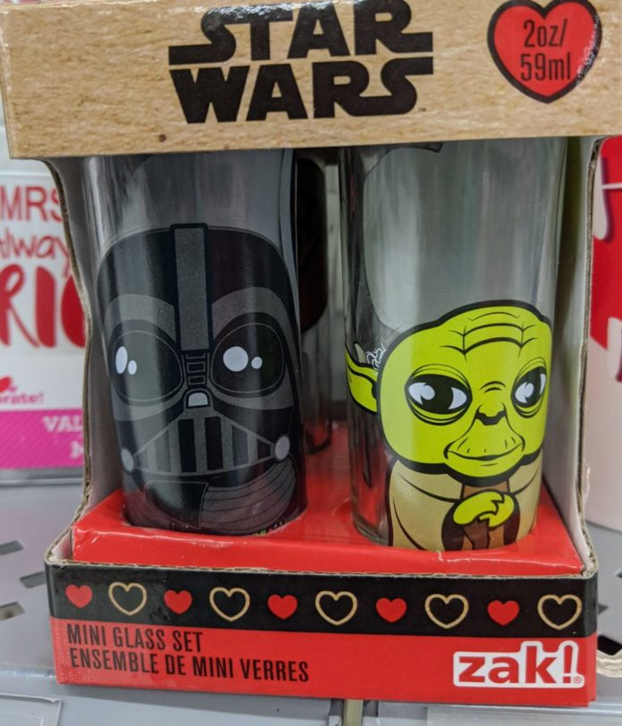 Best Star Wars themed Valentine's gifts: glassware, jewelry, shirts, candy, cards & more