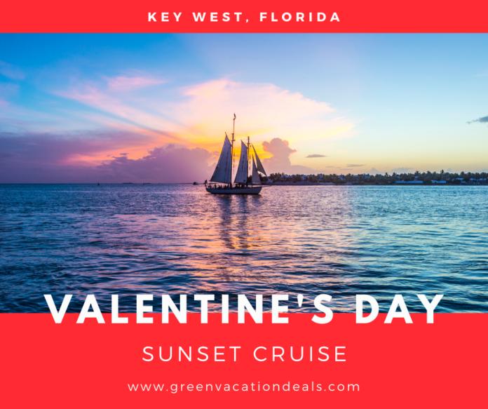 Valentine's Day Sunset Cruise in Key West, Florida