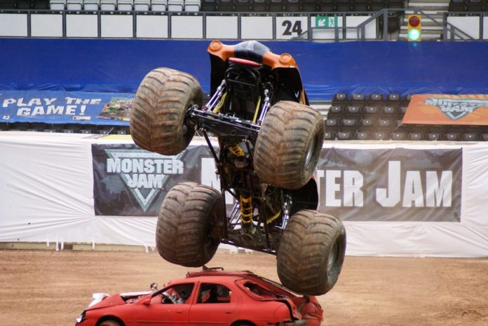 Win a trip to Orlando, Florida for the Monster Truck World Finals