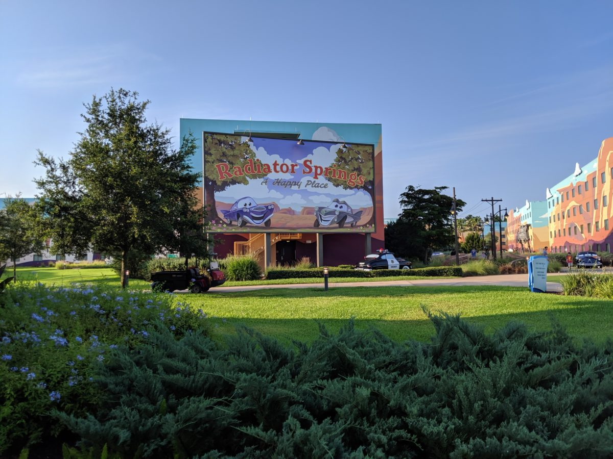 A picture of Radiator Springs at Walt Disney World Resort's Art of Animation hotel