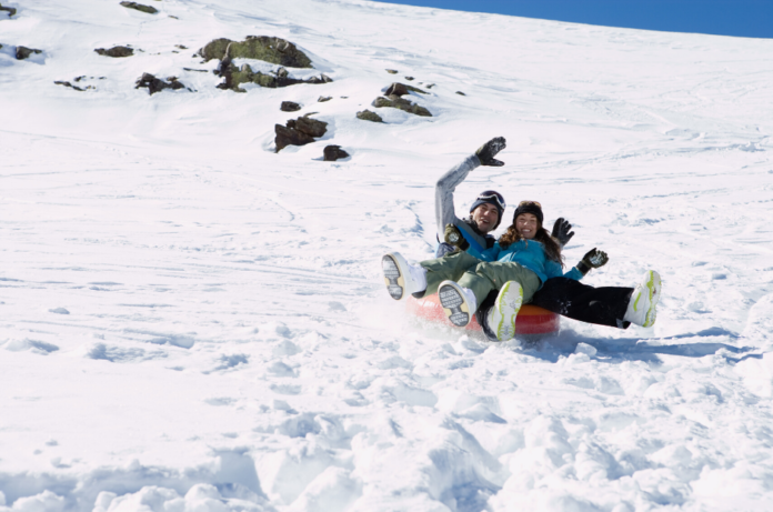 Save money with this sale on snow tubes