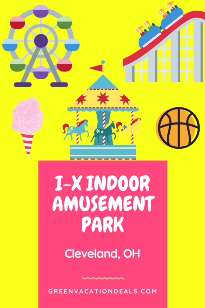 I-X Indoor Amusement Park promo code enjoy games, rides in Cleveland
