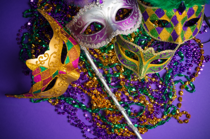 Coupon for Mardi Gras Masquerade at Rooftop 210 in Charlotte, North Carolina