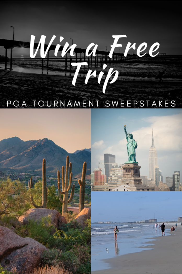 Win a free trip to New York, Florida, Arizona, California, South Carolina, Massachusetts