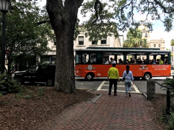 Promo code, discount price for hop on hop off trolley tour in Savannah, Georgia