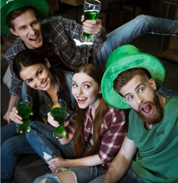 Get food & drink specials, no cover entry into Denver bars at St. Patrick's Day bar crawl