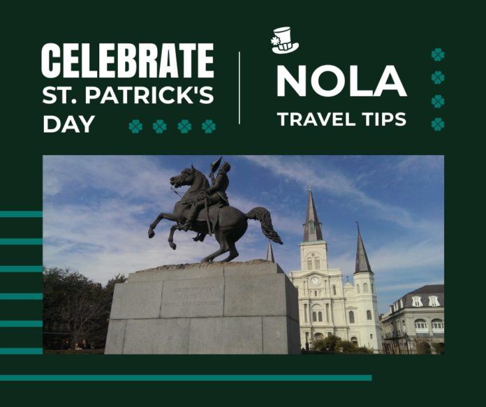 New Orleans + St. Patrick's Day + Cabbage Tossing
