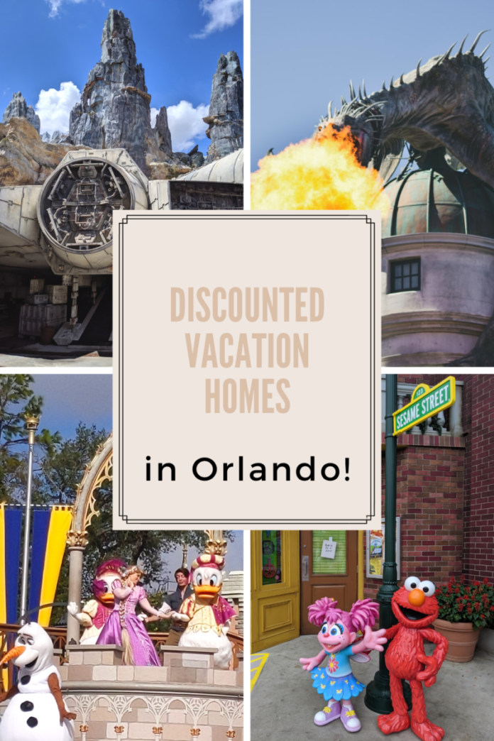 Enjoy Disney World, Universal & SeaWorld in Orlando by booking a cheap vacation home rental