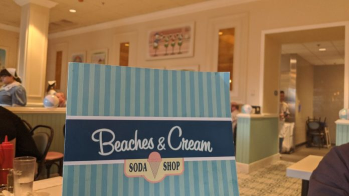 Read a review of the recently refurbished Beaches & Cream restaurant at the Walt Disney World Resort in Orlando, FL