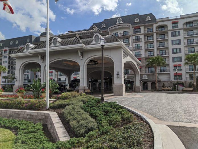Disney's Riviera Resort, the newest hotel at Walt Disney World in Orlando, Florida