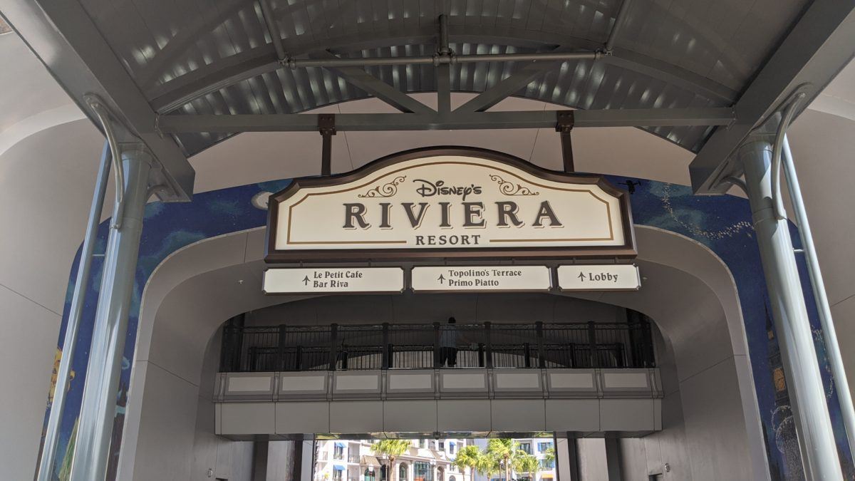Topolino's Terrace is the premier dining option at Disney's Riviera Resort in Orlando, Florida