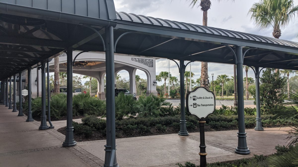 A picture of Disney's Riviera Resort the new DVC hotel in Orlando, Florida