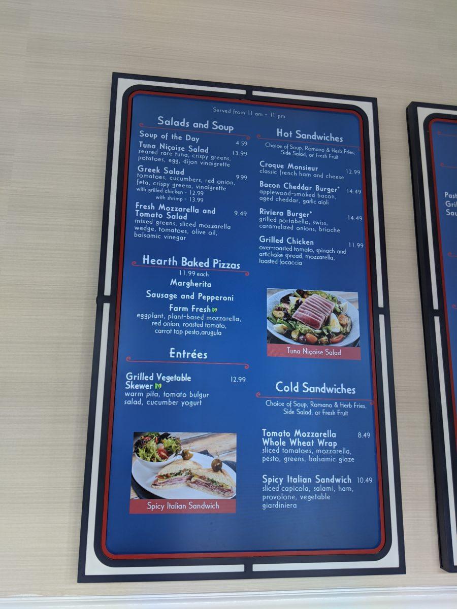 Eat Italian & European cuisine at Disney's Riviera Resort at Walt Disney World