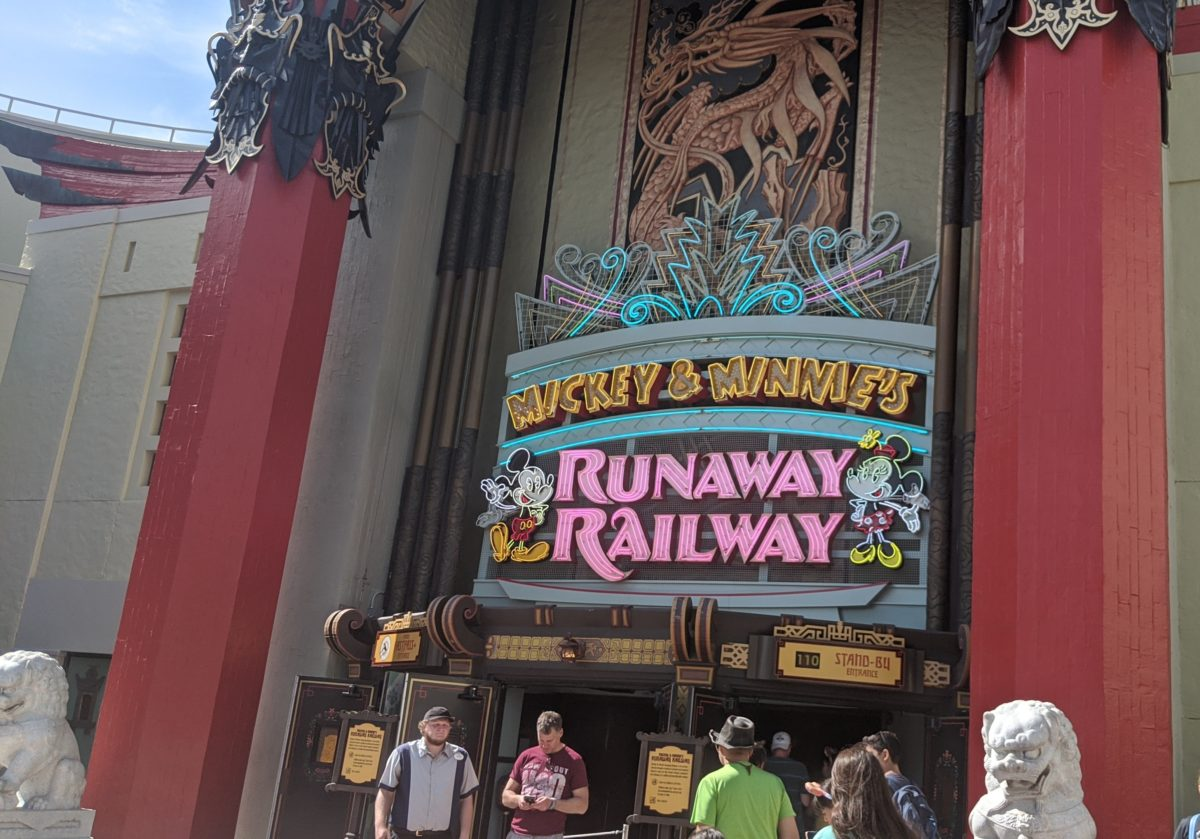 Mickey & Minnie's runaway Railway debuted March 2020 at Disney World