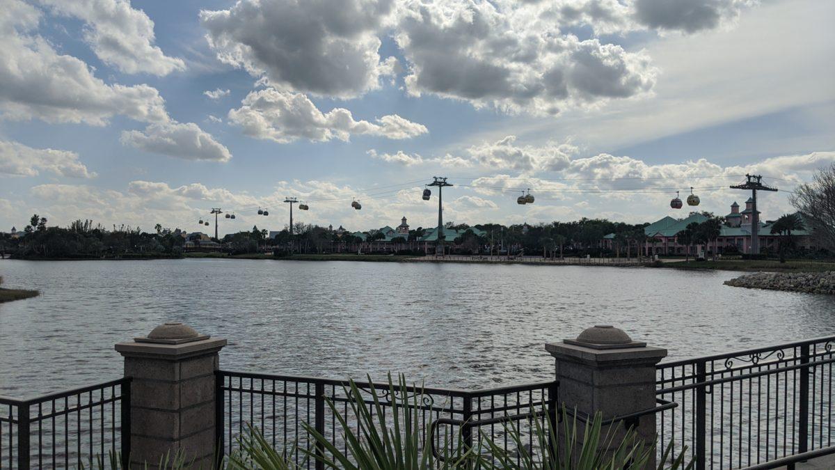 Disney's Riviera Resort has views of another Disney World hotel, Caribbean