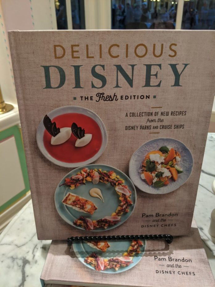 Make dishes they serve at Disney World by using these Disney cookbooks