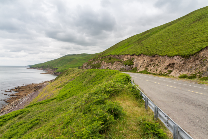 A picture of the Wild Atlantic Way. If you're planning a road trip there, find out how you can get car rental cancellations