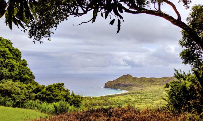 Kauai coast from the Kipu Ranch UTV adventure