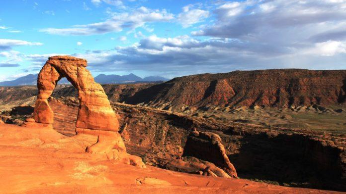 Moab, Utah UTV tour through the red rock backcountry