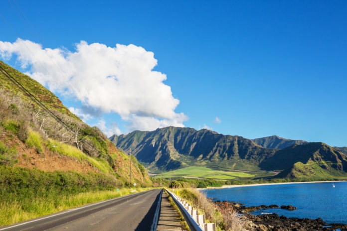 Beautiful landscapes in Oahu island, Hawaii. See it on a private jeep tour