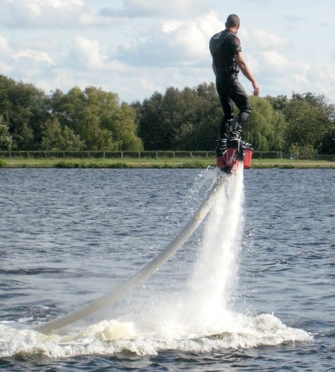 Discount price for flyboard experience in Minneapolis