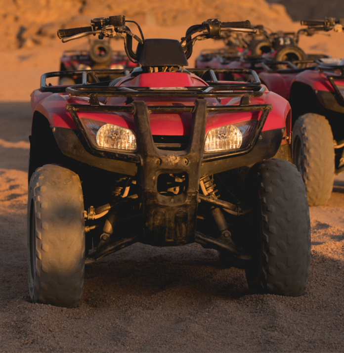 Two- or Four-Hour Nellis Dunes ATV Tour for One from Las Vegas ATV Tours (Up to 60% Off)