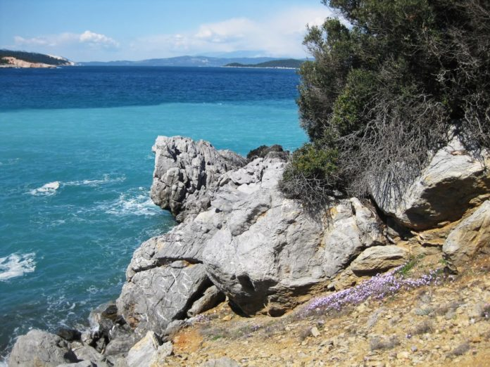 Picture of Evia, Greece. See the beautiful forests, mountains & beaches during private tour