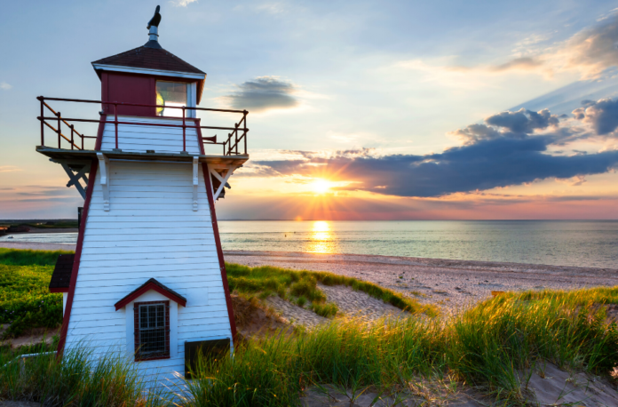 Picture of Covehead Harbour Lighthouse. See this & more on Prince Edward Island tour