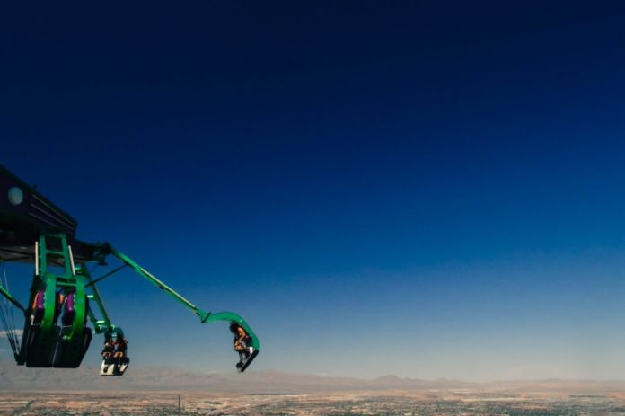 Discount prices for thrill rides at the Stratosphere Casino Resort in Las Vegas