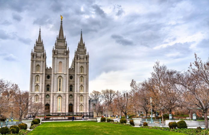Picture of the Salt Lake Temple. See this & more on a private SLC tour