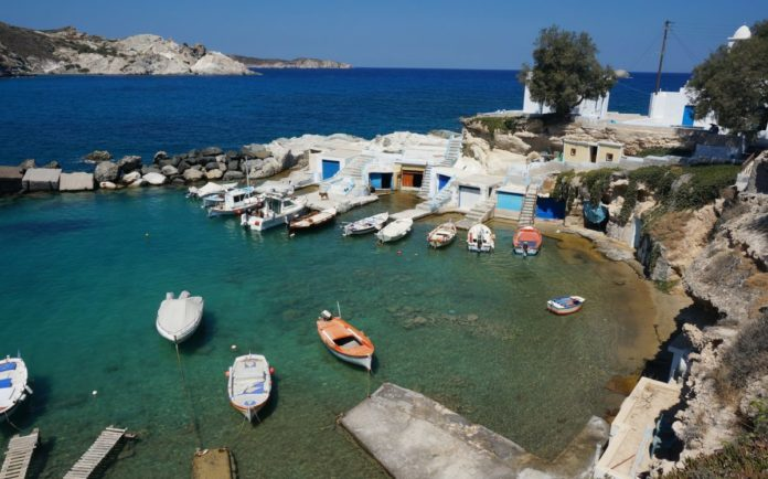 Win a free trip to Milos island in Greece includes private wine tasting at Konstantakis cave winery and day trips to beaches