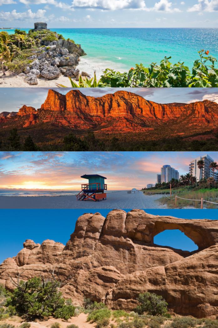 How to get a free trip to Tulum, Mexico; Moab or Sundance, Utah; Seonda, Arizona; South Beach, Florida