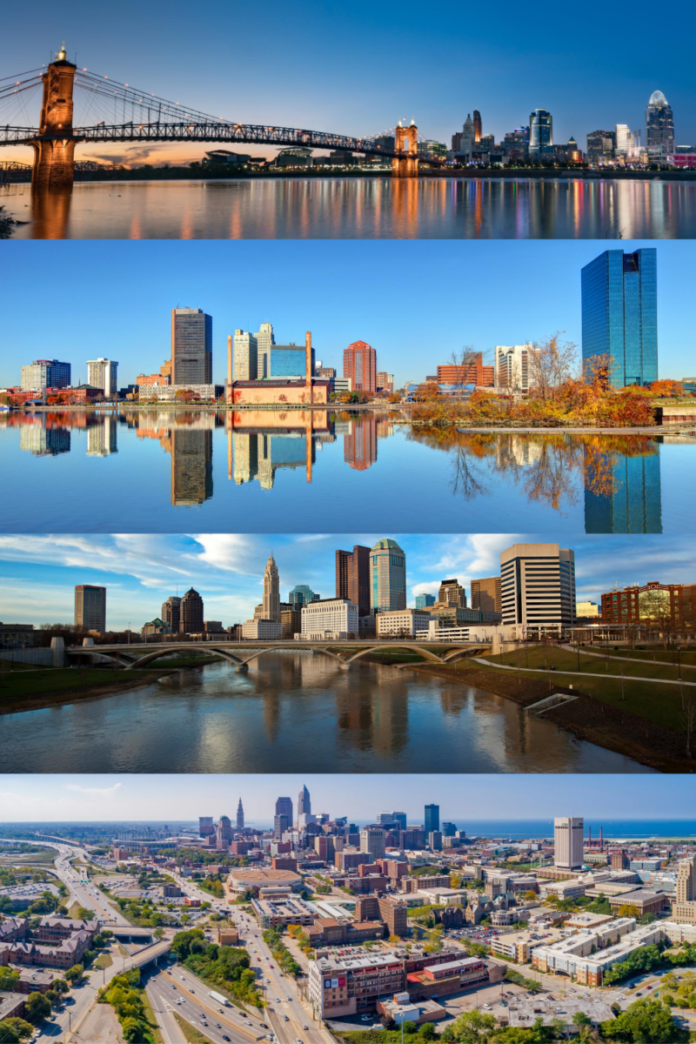 Discounted nightly hotel rates in Ohio (Cincy, Cleveland, Toledo & Columbus)