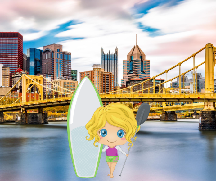 Stand Up Paddle Boarding On The Allegheny, Monongahela & Ohio Rivers