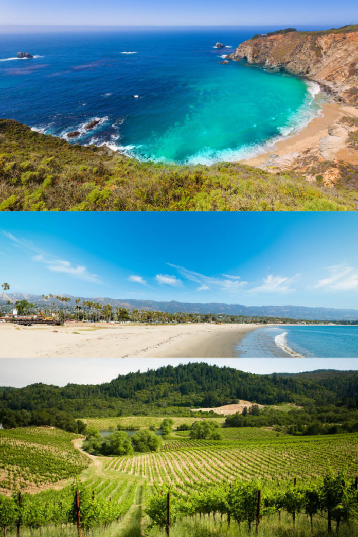 Win round trip airfare for 2 to San Francisco, 2 night stay in 4 or 5 Star hotels in Sonoma, Monterey and Santa Barbara