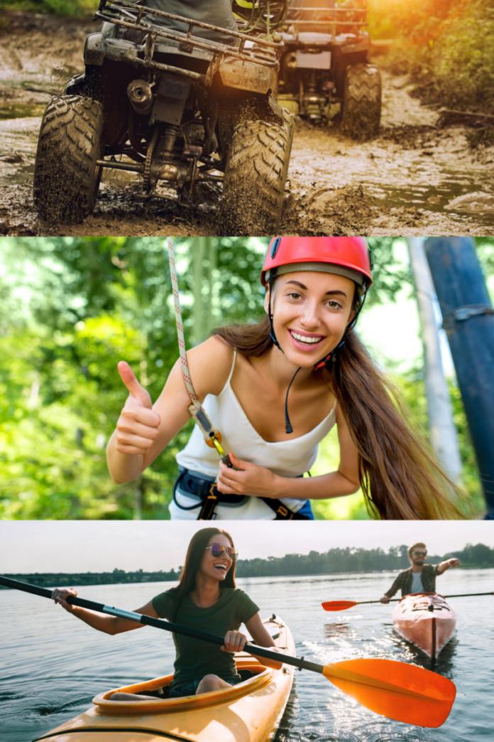 Minocqua Wisconsin outdoor adventures (kayaking, ziplining, ATV) coupons, promo codes