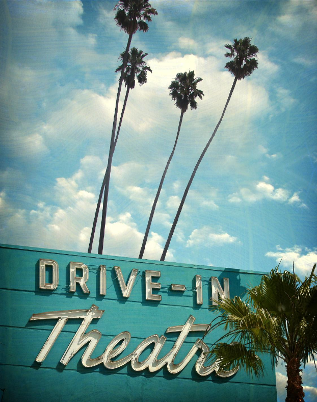 Discount ticket 50% off for drive in movie at Westfield North County Mall in San Diego area