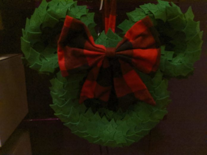 Best holiday wreaths themed to Disney, Nightmare Before Christmas, Mickey, etc.