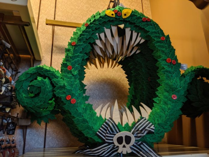 Best Halloween wreaths themed to Disney (Nightmare Before Christmas, Hocus Pocus, Mickey, etc.)