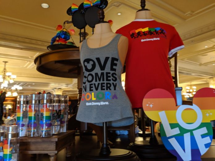Best Disney pride shirts great for Disney World, Disneyland vacations, gay days