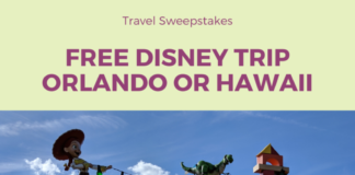 Enter Disney Vacation Club - Magic Around Every Corner Sweepstakes for a free trip to Hawaii or Florida