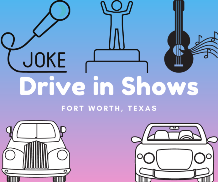 Save money on tickets to drive-in stand up comedy & country music concerts in Fort Worth, TX