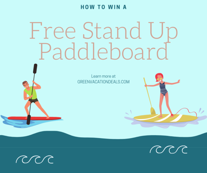 Enter Paddling.com - Rave Sweepstakes to win a paddleboard