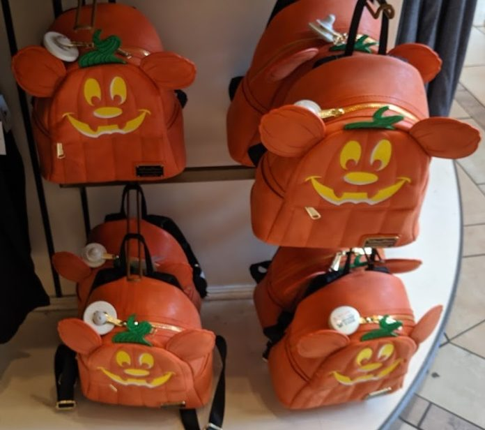 Best Disney themed Halloween mini backpacks